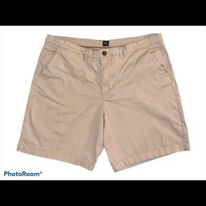 Jachs Bleecker Fit Khaki Casual Chino Shorts 38